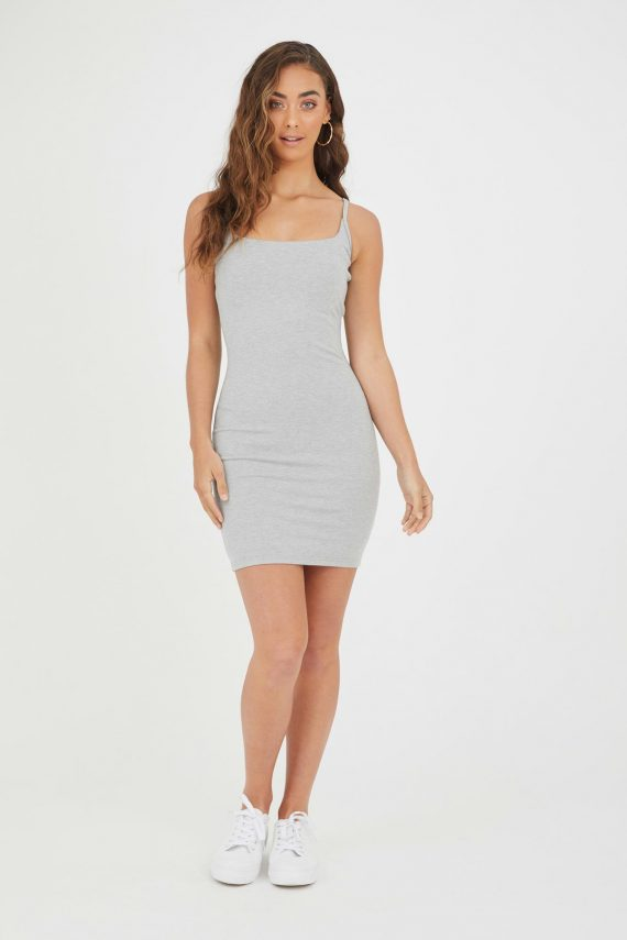 Viento Dress Ladies Dress Colour is Grey Marle