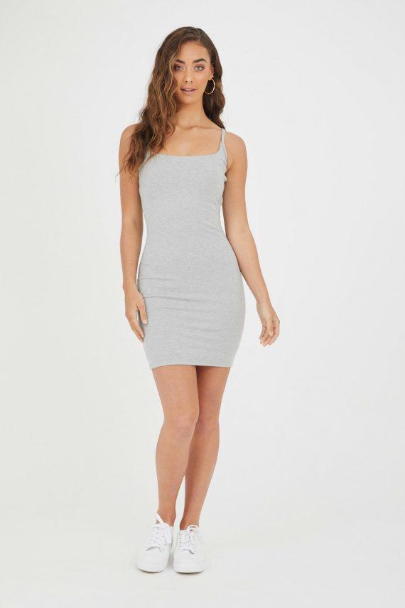 Viento Dress Ladies Dress Colour is Grey Marle