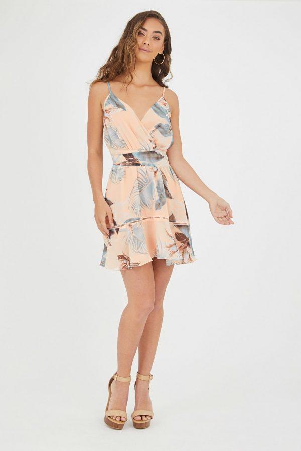 Summer Sunrise Dress Ladies Dress Colour is Summer Sunrise Print