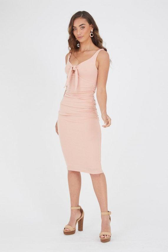Manzana Dress Ladies Dress Colour is Blush