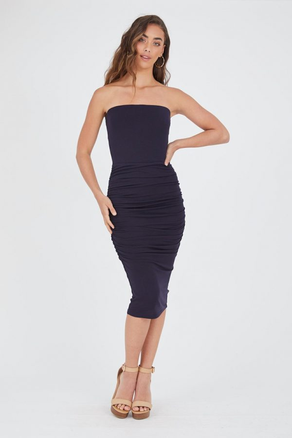 Maroma Dress Ladies Dress Colour is Navy