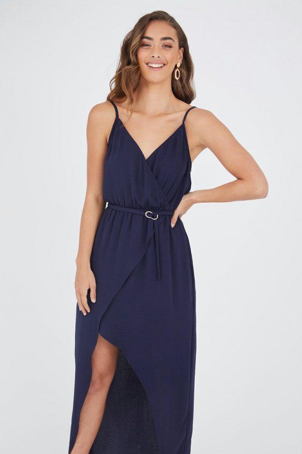 Toluca Dress Ladies Dress Colour is Navy