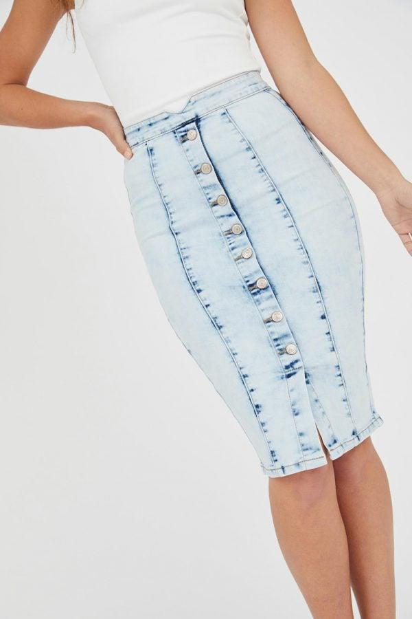 Pier Skirt Ladies Skirt Colour is Lblu