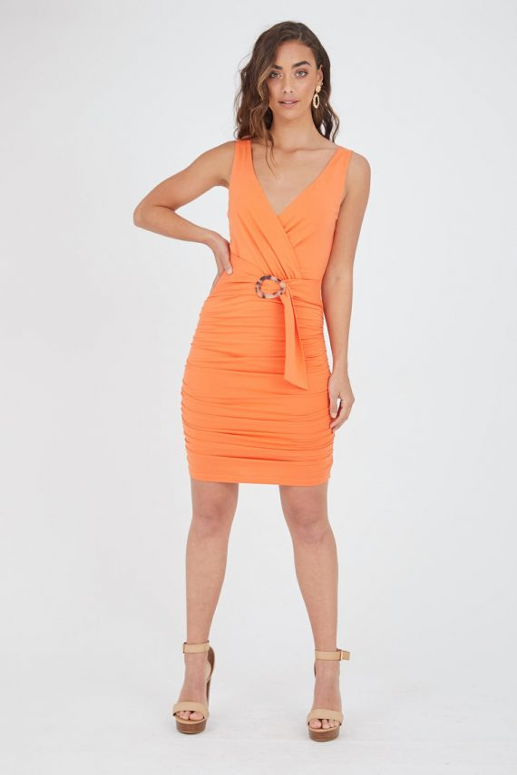 Morelia Dress Ladies Dress Colour is Mango