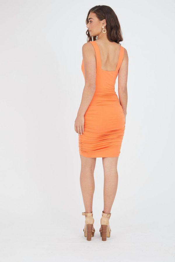 Morelia Dress Ladies Dress Colour is Mango
