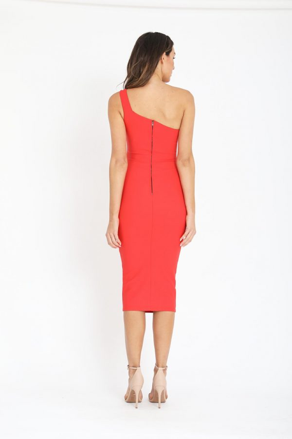 Monte Carlo Dress Ladies Dress Colour is Tomato