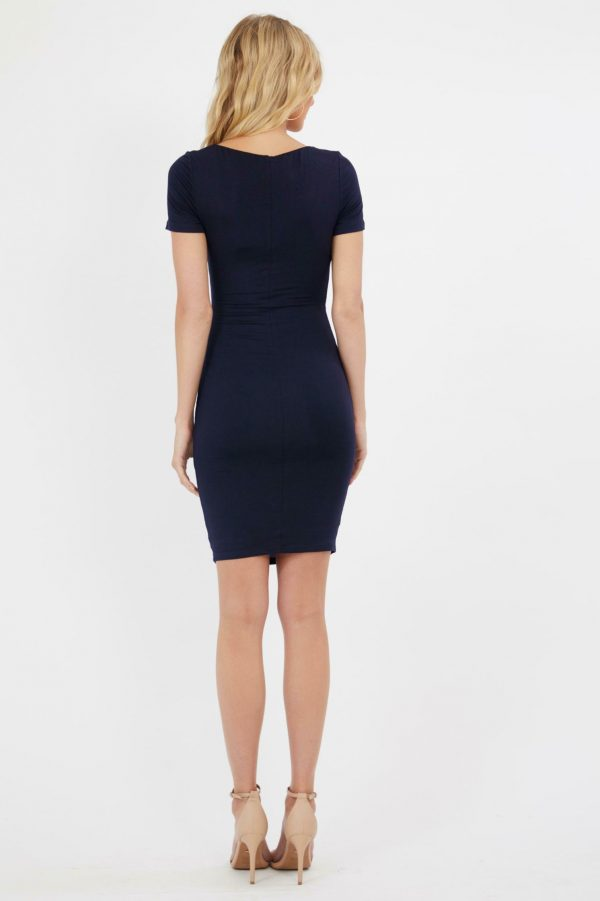 Evora Dress Ladies Dress Colour is Navy