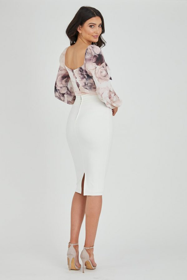 Romantic Top Ladies Top Colour is Romantic Bloom Print