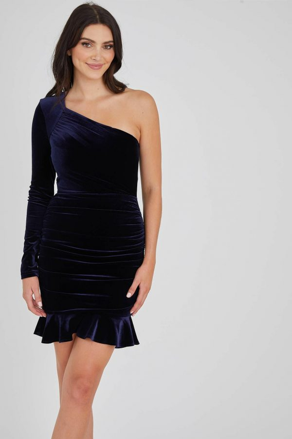 Lady Luck Dress Ladies Dress Colour is Navy
