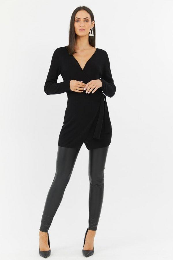 Vermont Knit Top Ladies Top Colour is Black