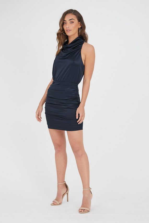 Calido Dress Ladies Dress Colour is Navy