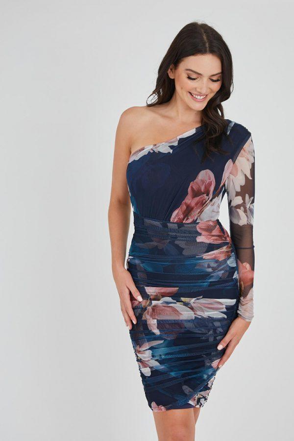 Frost Dress Ladies Dress Colour is Winter Frost Print