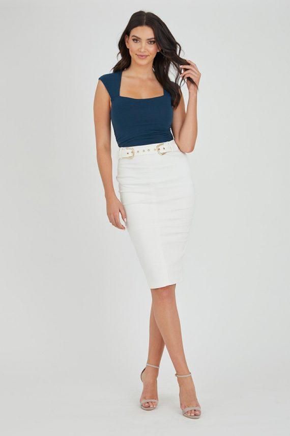 Cirrus Skirt Ladies Skirt Colour is White