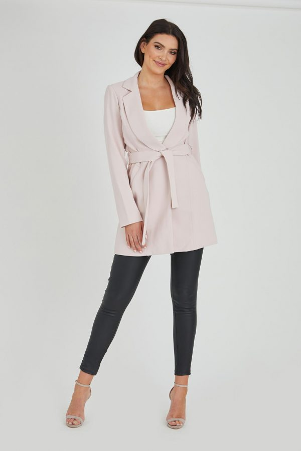 Whisper Jacket Ladies Jacket Colour is Blush
