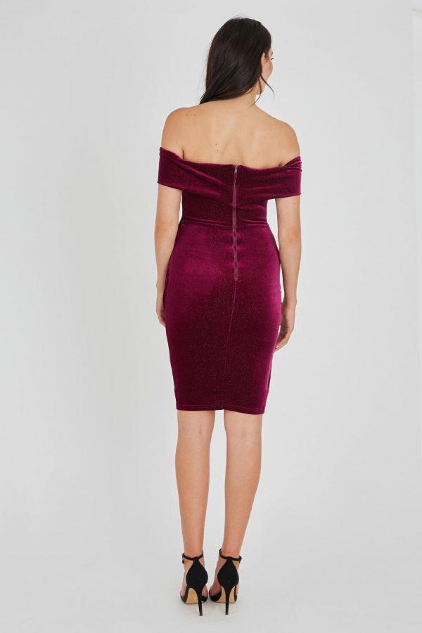 Alibi Dress Ladies Dress Colour is Fuchsia