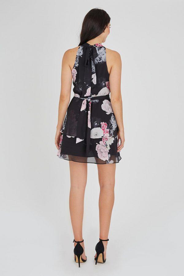 Mirage Dress Ladies Dress Colour is Midnightgarden Print