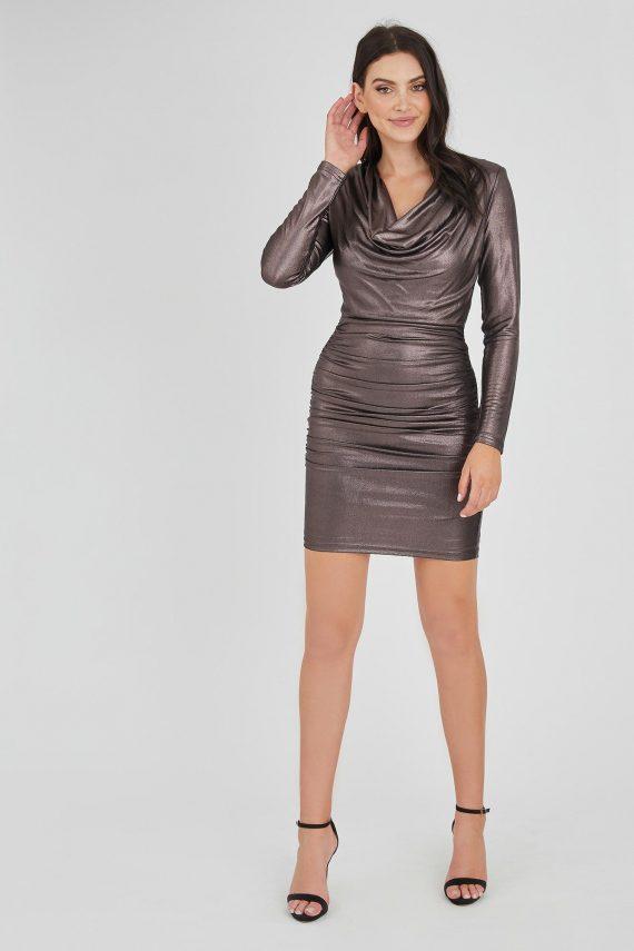 Billionaire Dress Ladies Dress Colour is Bronze