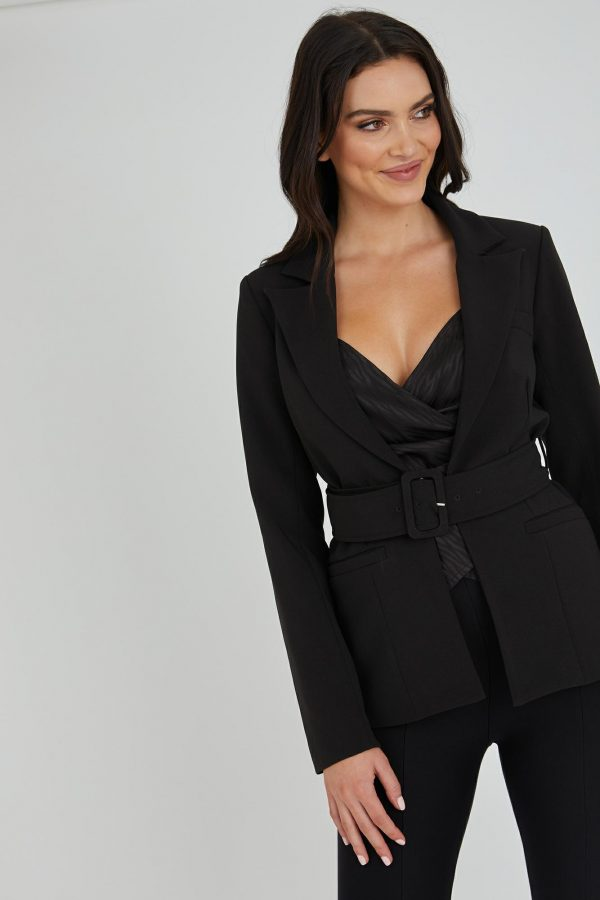 Domino Jacket Ladies Jacket Colour is Black