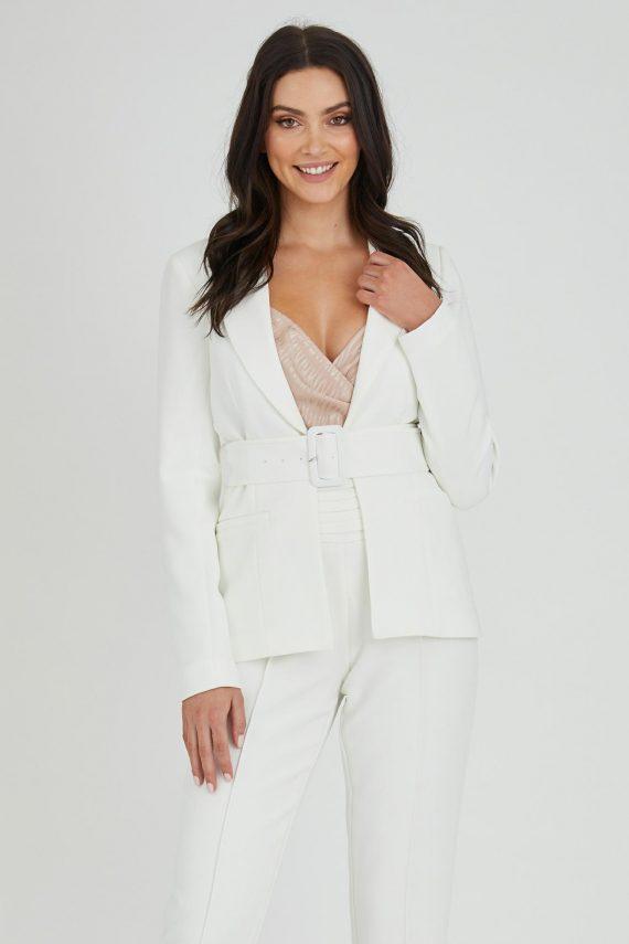 Domino Jacket Ladies Jacket Colour is White