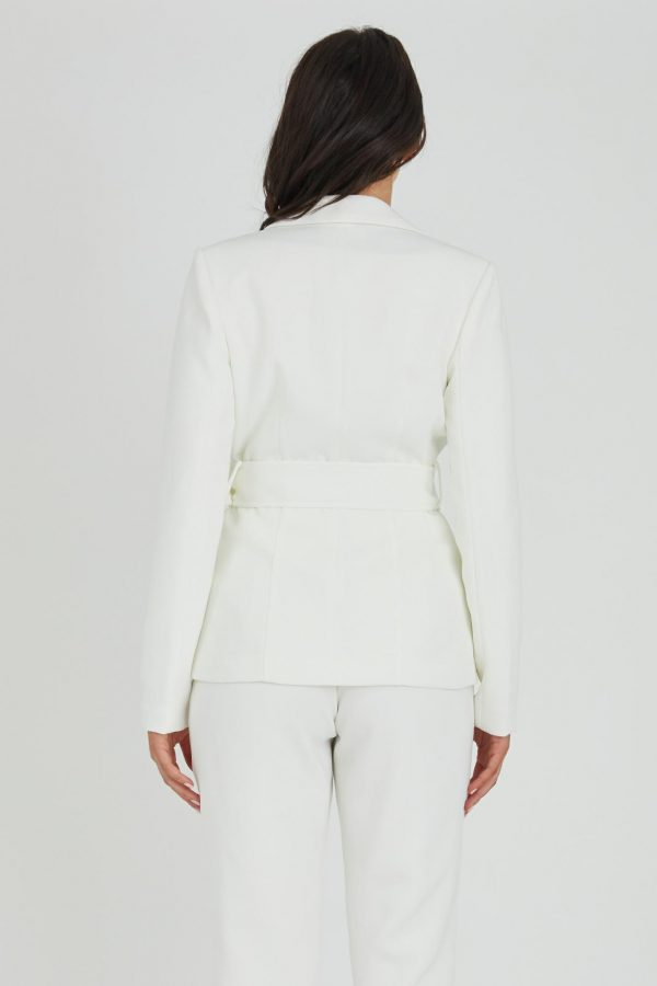Domino Jacket Ladies Jacket Colour is White