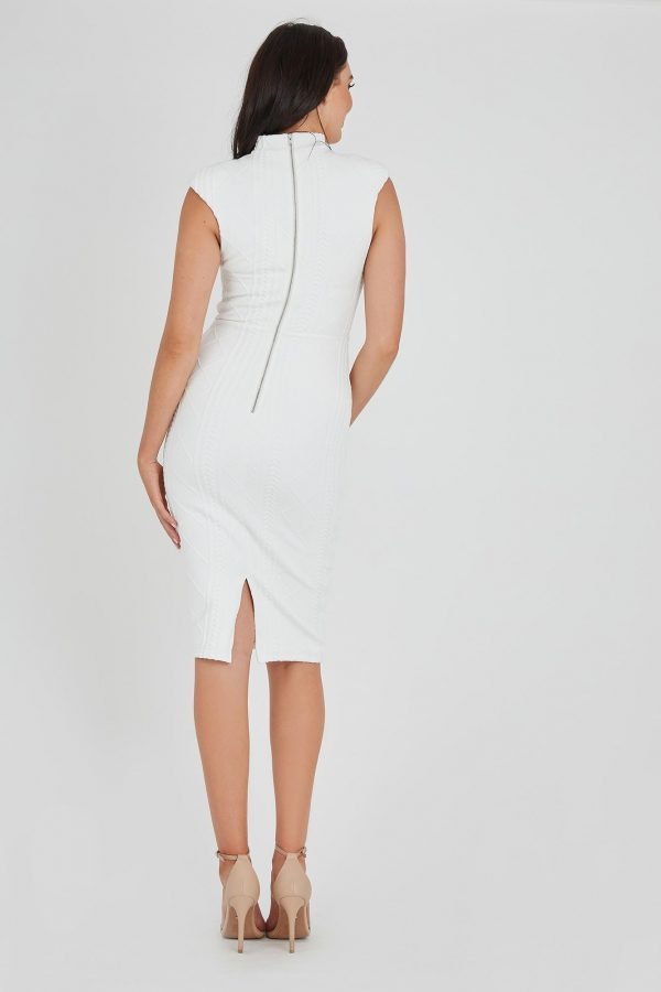 Distraction Dress Ladies Dress Colour is White