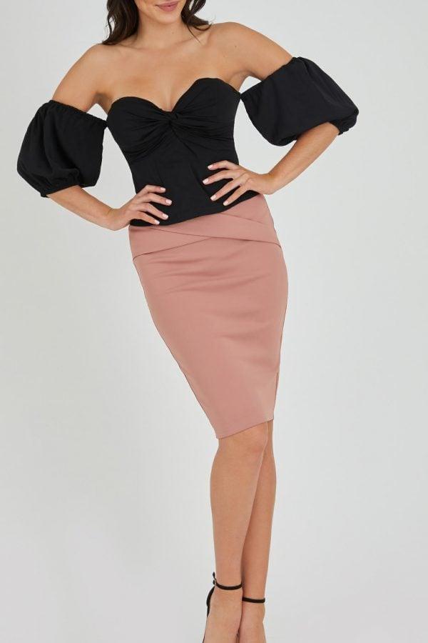 Tatiana Skirt Ladies Skirt Colour is Blush