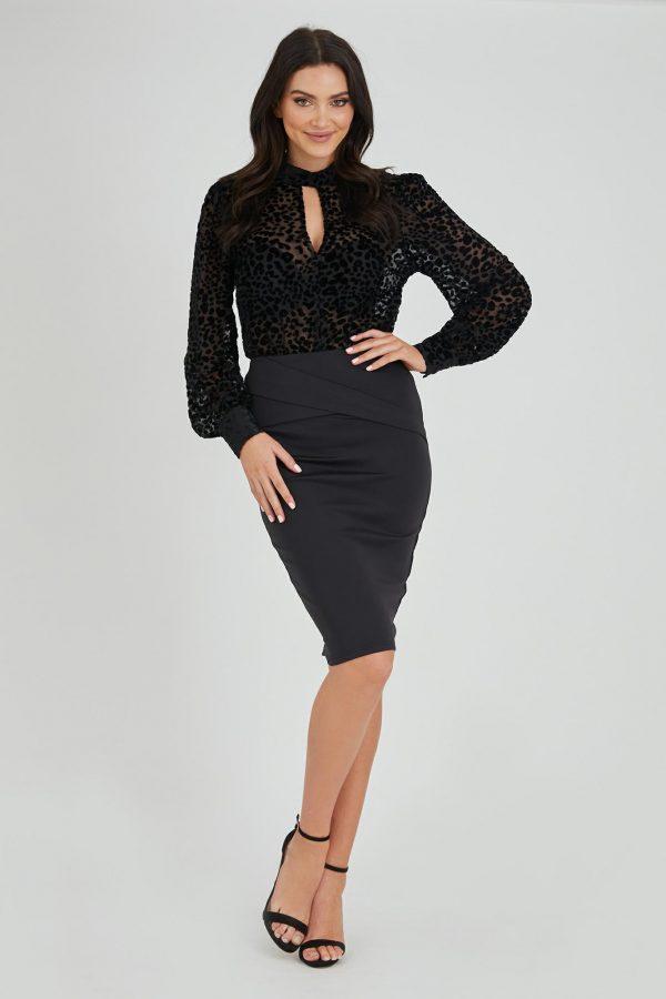 Tatiana Skirt Ladies Skirt Colour is Black