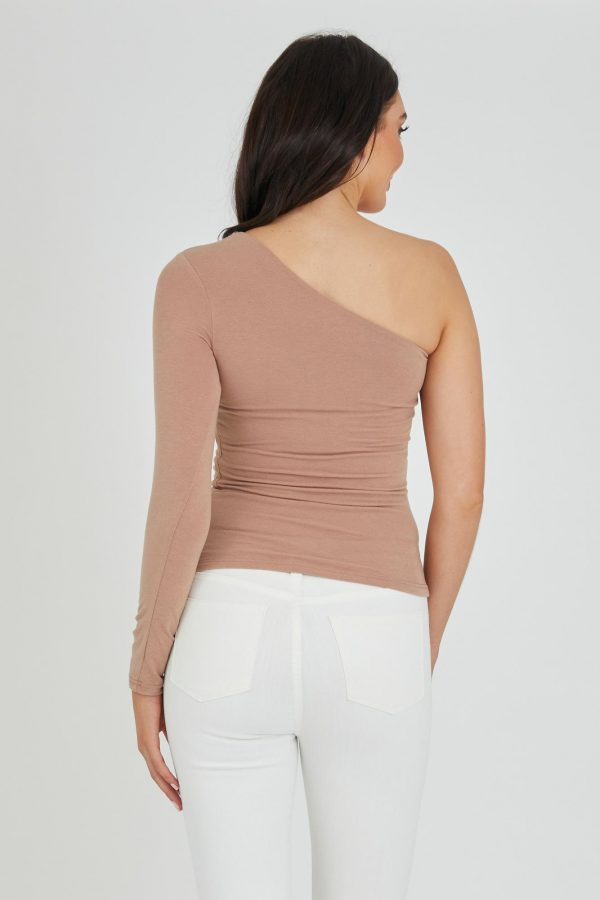 Deck Top Ladies Top Colour is Nude