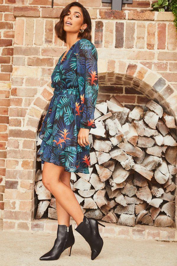 Sabalo Dress Ladies Dress Colour is Print