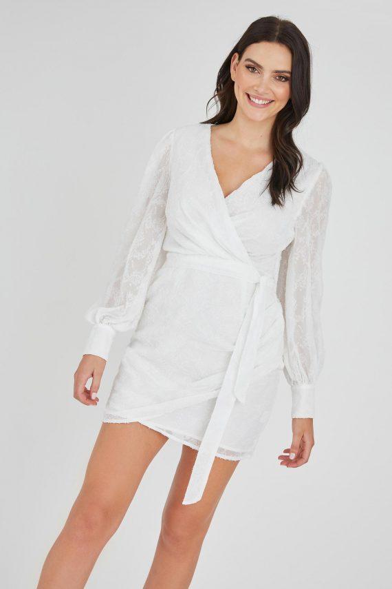 Riches Dress Ladies Dress Colour is White