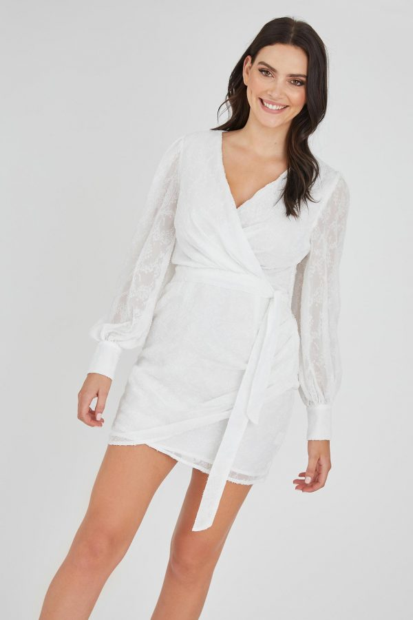 Riches Dress Ladies Dress Colour is White