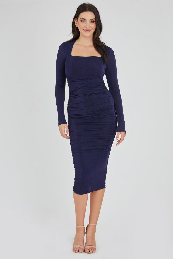 Las Vegas Dress Ladies Dress Colour is Navy