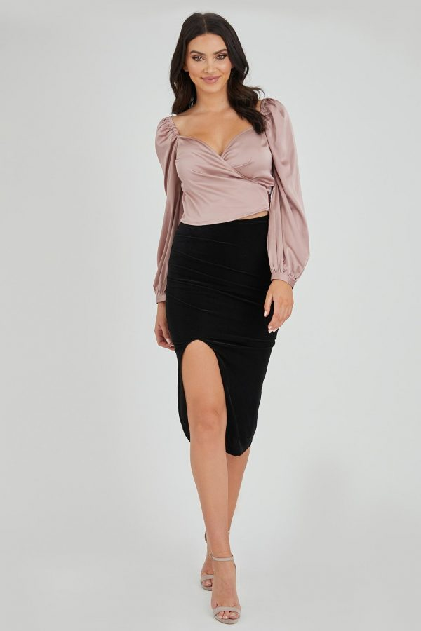 Jackpot Top Ladies Top Colour is Blush