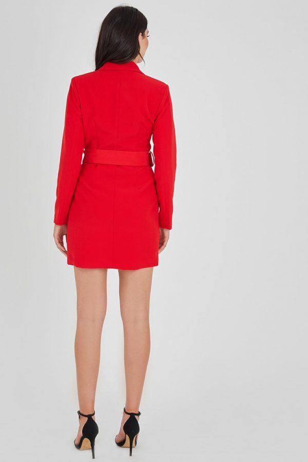 Clubs Dress Ladies Dress Colour is Red