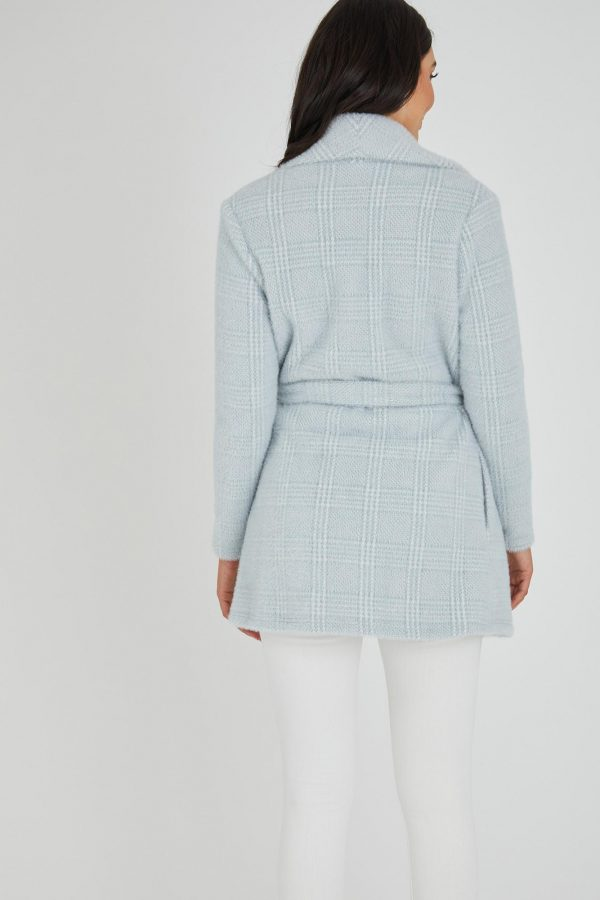 Chase Jacket Ladies Jacket Colour is Blue Check