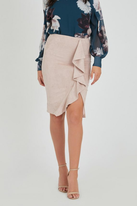 Fountain Skirt Ladies Skirt Colour is Blush