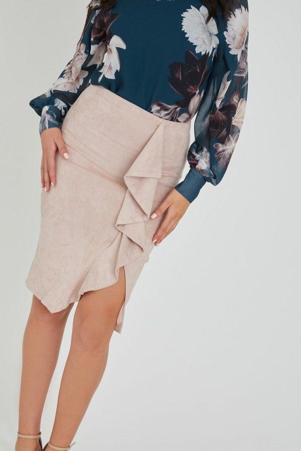 Fountain Skirt Ladies Skirt Colour is Blush