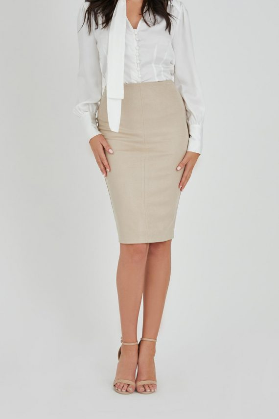 Suave Skirt Ladies Skirt Colour is Beige