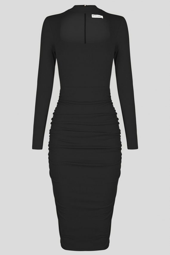 Lost City Dress Ladies Dress Colour is Black