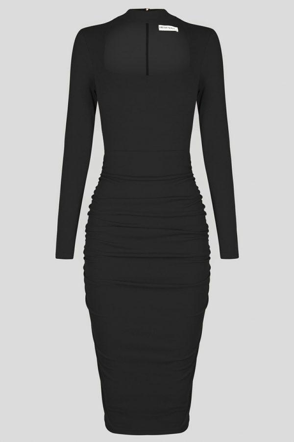 Lost City Dress Ladies Dress Colour is Black