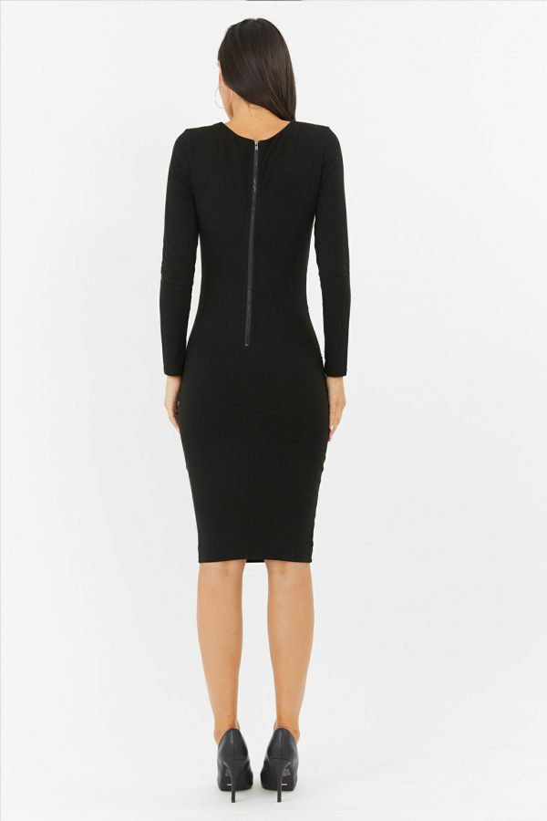 Vivien Dress Ladies Dress Colour is Black