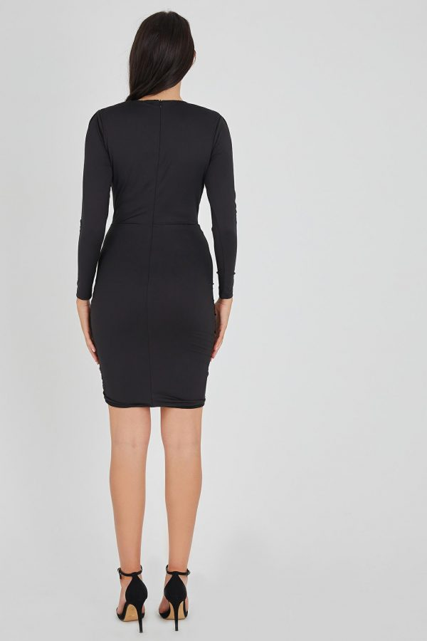 Elektra Dress Ladies Dress Colour is Black