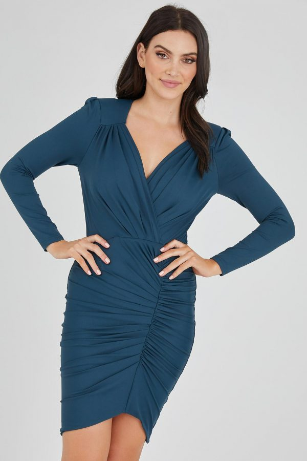 Elektra Dress Ladies Dress Colour is Teal