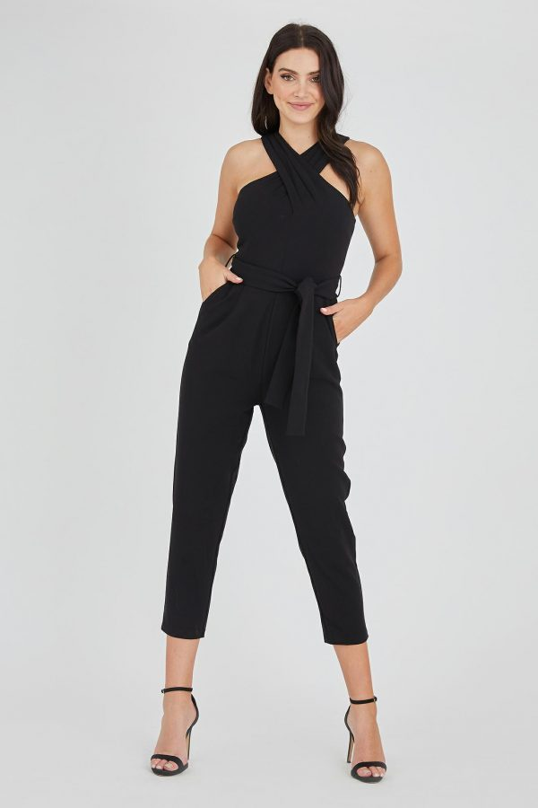 Sinatra Jumpsuit Ladies Jumpsuit Colour is Black