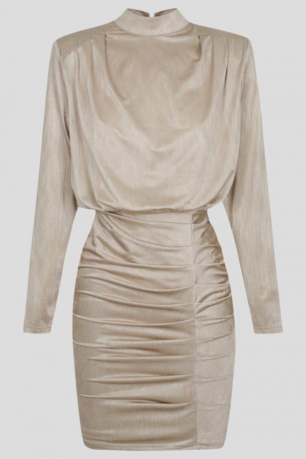 Iris Dress Ladies Dress Colour is Oyster