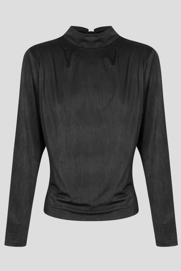 Connery Top Ladies Top Colour is Black