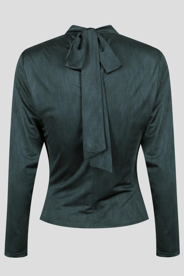 Connery Top Ladies Top Colour is Teal