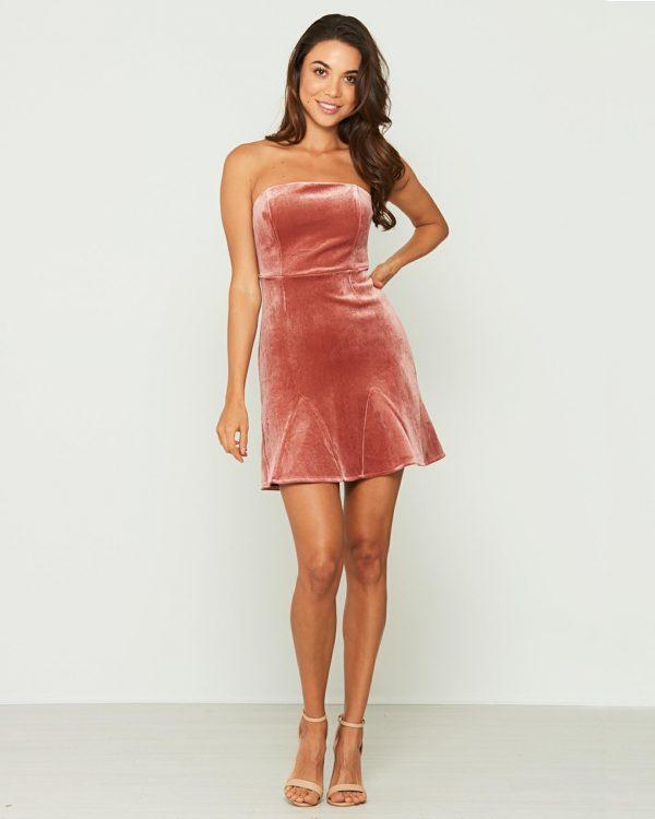 Spell Dress Ladies Dress Colour is Salmon
