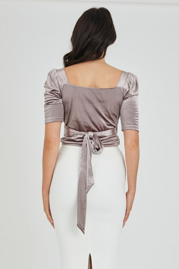 Skyfall Top Ladies Top Colour is Oyster