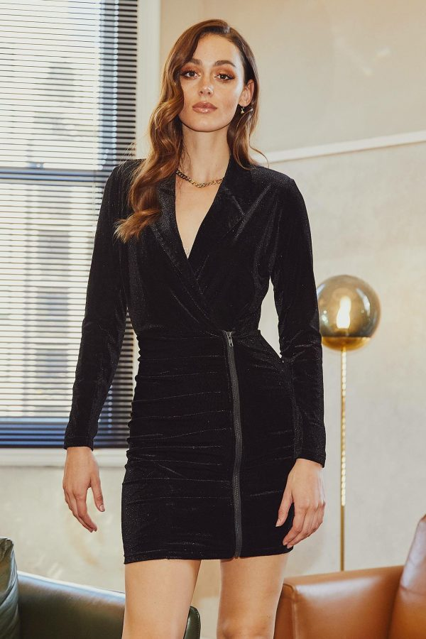 Macy Dress Ladies Dress Colour is Black